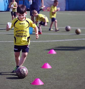 Scuole calcio. In Italia le frequentano 300mila bambini e ragazzi