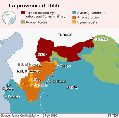 La provincia di Iblib, ultima roccaforte dell'Isis