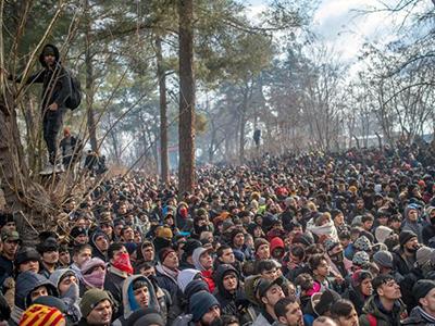 La Grecia non può far fronte da sola all'ondata migratoria indotta dalla Turchia