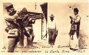 Cristiada, Sacerdote messicano fucilato dai federali