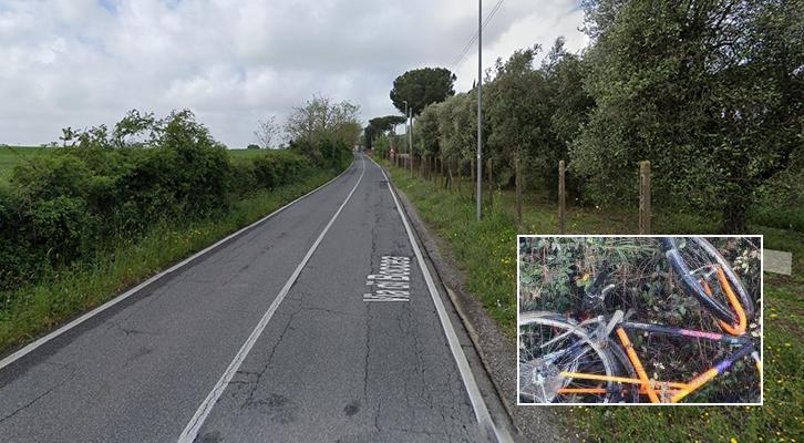 Ciclista ucciso a via Boccea. Preso l'investitore