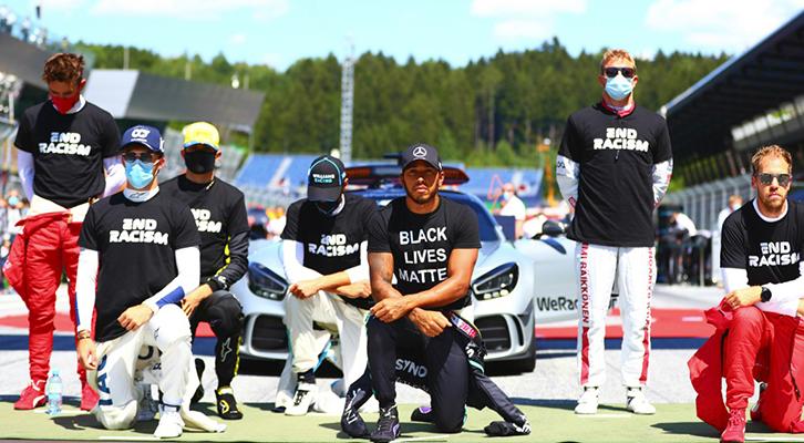 Leclerc e Verstappen, il No al razzismo si può esprimere senza genuflessioni