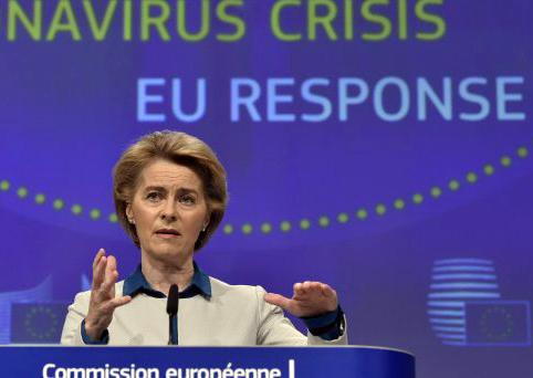 Arrivano i fondi europei Sure proposti dalla presidente della Commissione, Ursula von der Leyen