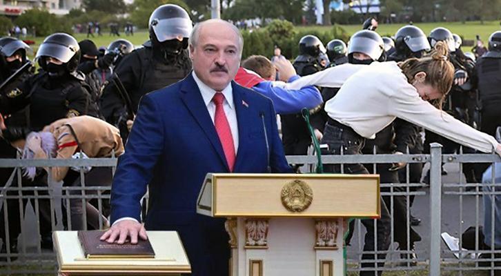 Bielorussia, il presidente Lukashenko giura per la 6a volta. Proteste in piazza a Minsk