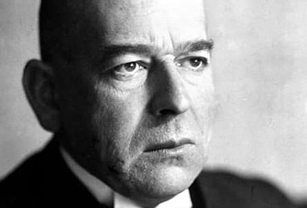 Oswald Spengler, autore del Tramonto dell'Occidente