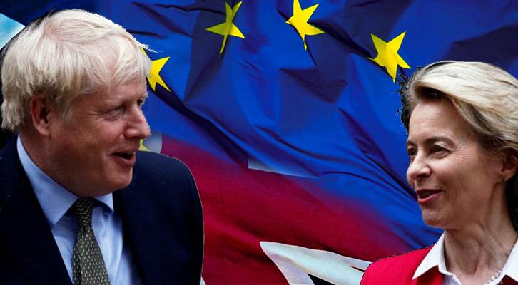 Faccia a faccia Johnson van der Leye sugli ultimi nodi della Brexit