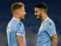 Calcio Serie A. Ciro Immobile e Luis Alberto