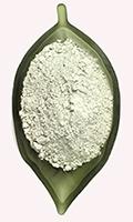 Bentonite in polvere