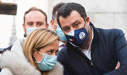 Le scelte diverse verso il Governo Draghi di Giorgia Meloni e Matteo Salvini