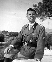 Leon Degrelle con la divisa della Legione Vallonie (1941-1941)