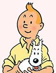 TinTin, il fortunato fumetto del belga Georges Hergé