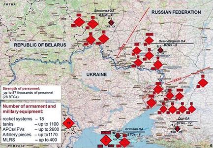 Ucraina. 150mila soldati russi accerchiano il paese