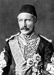 Il generale inglese e governatore del Sudan Charles Gordon