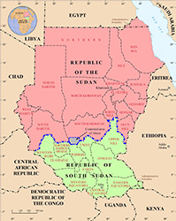 Il Sudan e il Sud Sudan