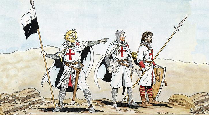 Giuseppe Ligato, Le armate di Dio. Templari, Ospitalieri e Teutonici in Terra Santa, Salerno Editrice