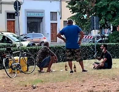 Il quartiere Borgo Ognisanti ostaggio degli spacciatori africani