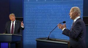 Trump Biden, noia e insulti nel 1° match tv