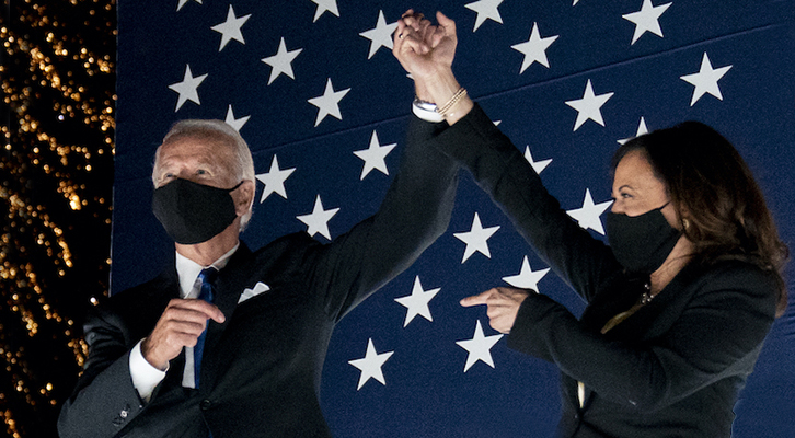 Comincia oggi l'era <br>di Joe Biden