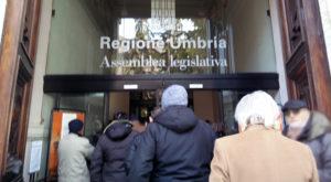 Regione Umbria. Sit-in di protesta il 26 gennaio