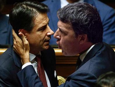 Giuseppe Conte, costretto alle dimissioni da Matteo Renzi, cerca un terzo mandato