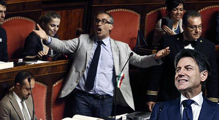 Giuseppe Conte, fallita la compravendita di senatore, punta al ter