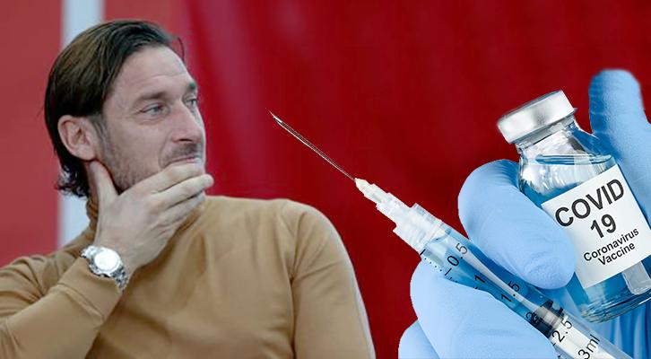 Totti e Immobile <br>testimonial del vaccino