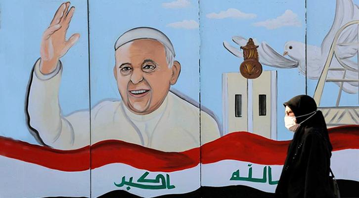 Il viaggio di pace <br>di Papa Bergoglio