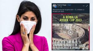 Virginia Raggi. L'anfiteatro di Nimes al posto del Colosseo
