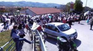 In 400 sabato 24 aprile a Semonte di Gubbio per dire No al Css