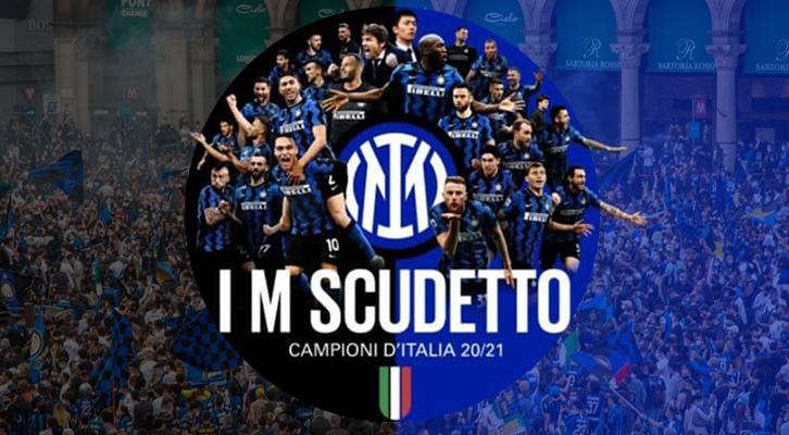 L'Inter di Antonio Conte <br>è Campione d'Italia