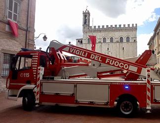 La città di Gubbio supera il suo maggio più difficile