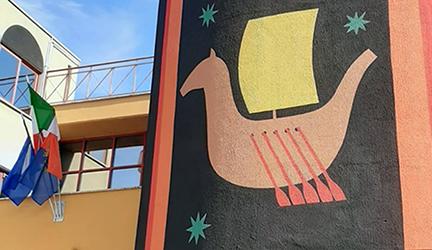 Pomezia, tra street art e suggestione virgiliane