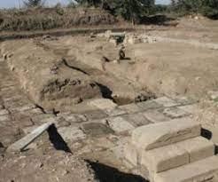Il sito archeologico Sol Indigens nei pressi di Pomezia