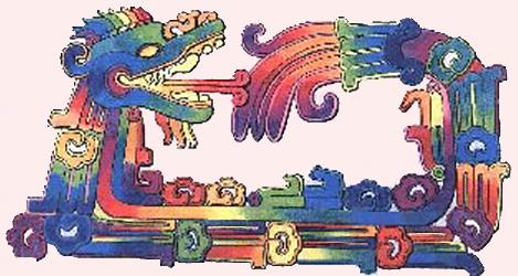 Il serpente piumato dei Maya