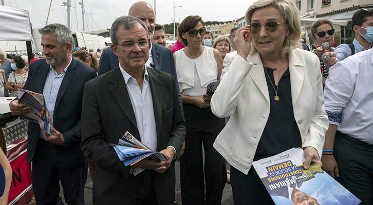 Una battuta d'arresto <br>per Macron
