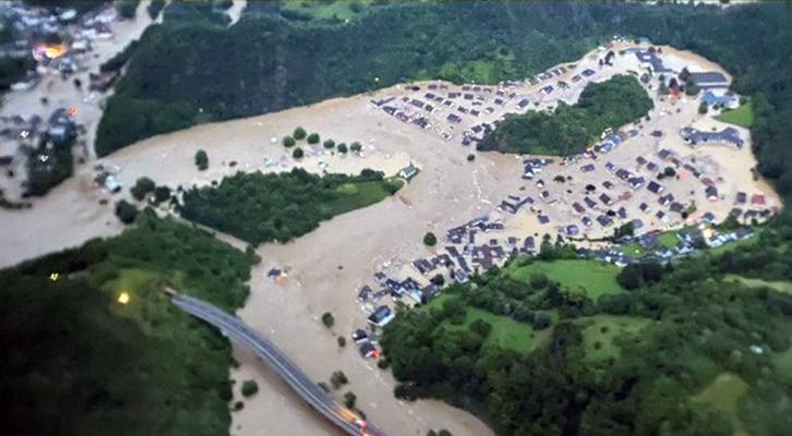 Il distretto di Ahrweiler <br>devastato dalle alluvioni