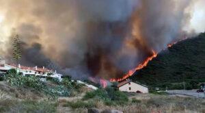 La Sardegna brucia. 20mila ettari in fiamme nell'oristanese