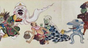 Gli Yokai in mostra all'Istituto di Cultura Giapponese