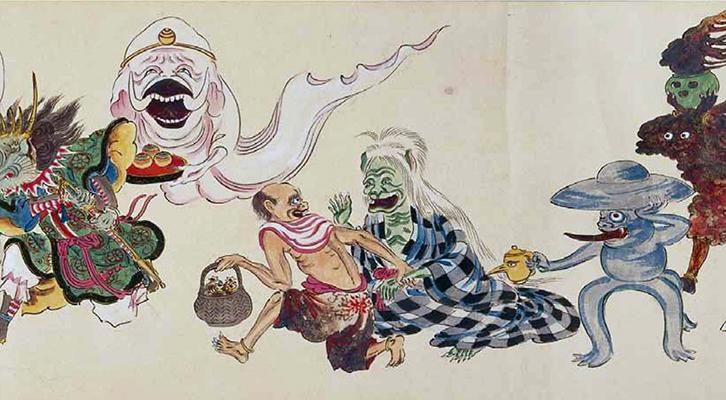 La parata degli Yokai, <br>i folletti delle tradizioni popolari