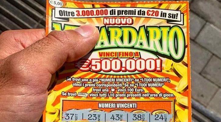 Gratta e Vinci milionario a Napoli. Tabaccaio fugge con tagliando da €500mila