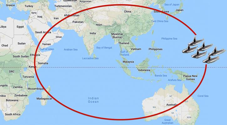 La Nato si sposta nel Pacifico <br>e arma l'Australia