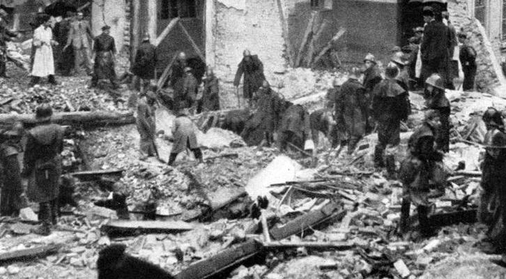 Le bombe Usa <br>sulla scuola di Gorla